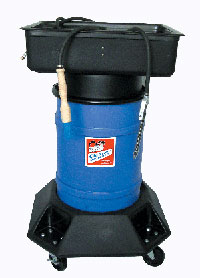 Oil Eater's new air-powered professional brake washer allows users to clean brake parts without electricity.