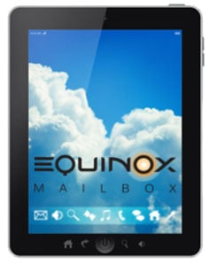 Equinox Mailbox will allow drivers to view their home mail from anywhere on the road.