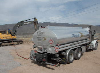GDiesel's maker sells directly to users, and to truckstops and fueling stations in northern Nevada. Customers say the gas-diesel blend burns cleaner than standard ULSD fuel.