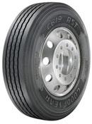 Goodyear's new G619 RST  features 18/32-inch tread depth and a four-belt casing.
