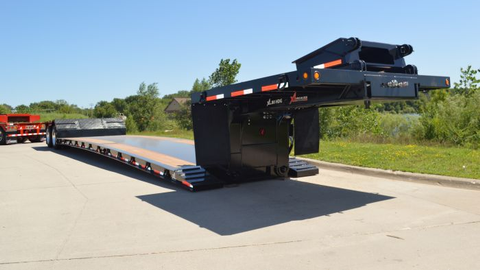 Low deck heights, as on XL Specialized's XL 80, allow carrying of extra-high loads. The...
