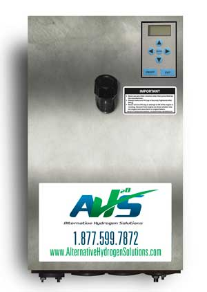 The HY-Impact system runs on fewer than 3 amps of power and requires one cup of distilled water every 900 operating hours.