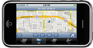 New iPhone App Documents Hours of Service