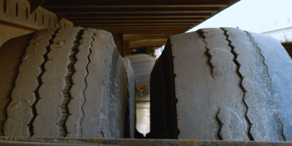 Irregular wear on trailer tires could be a combination of  pre-existing wear and poor...