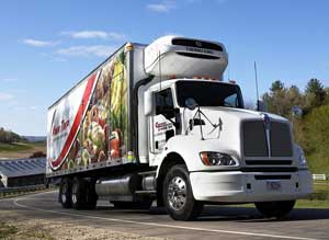 Among Kwik Trip's fleet are a Kenworth T440 LNG tractor and two Kenworth T440s powered by CNG.