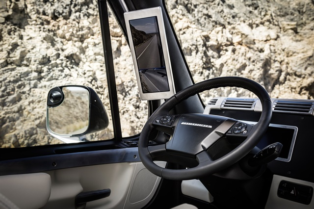 In 2015, Freightliner's Inspiration Truck showed off autonomous driving technology in a concept/test vehicle. Photo: Daimler Trucks North America