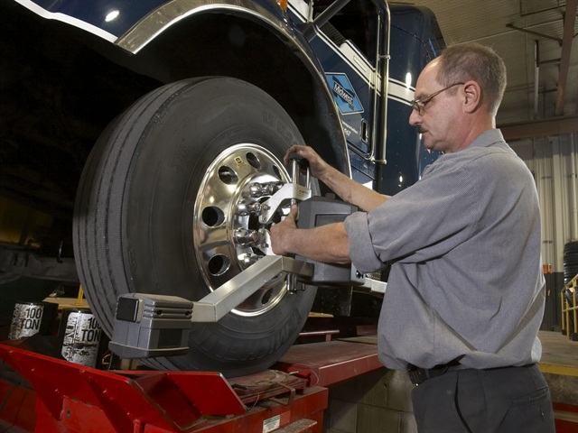 Bad alignment is a source of irregular wear. Catch it early and you'll save the tire. Repair the problem before installing a new tire. Photo courtesy of Michelin