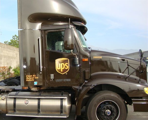 In the U.S., UPS runs trucks fueled by CNG, LNG and LPG and others powered with electricity and via hydraulic hybrid drives.