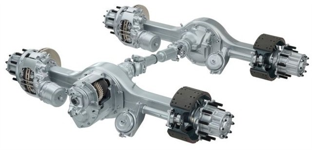 Meritor's 14X Tandem drive axle is now available with a super-fast 2.28:1 ratio enabling lower engine rpm at highway cruise speed in a downsped driveline.