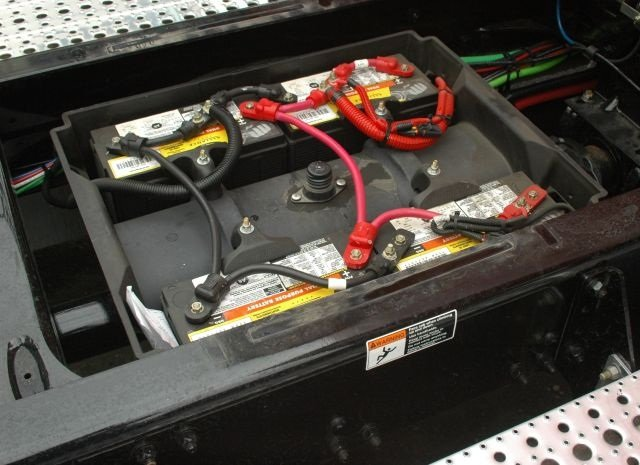 No matter what type of batteries you use, they need to be securely mounted to the truck to prevent damage from vibration.