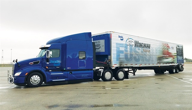 Trailers have lagged behind tractors in terms of communicating both with power units and the outside world. That is about to change. Photo: Bendix