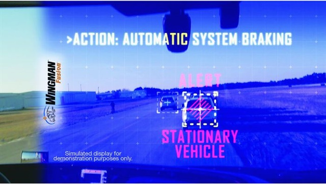 Bendix's Fred Andersky points out that camera systems can be designed for one or more specific or multiple functions, or they may feed into an integrated safety system. Photo: Bendix