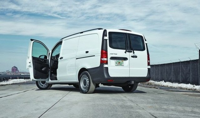 Mercedes-Benz is introducing its Metris mid-size van, which is a new segment within the cargo vans business. If it sells well, competitors might feel compelled to bring in similar vehicles from Europe.