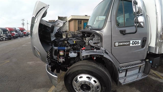 Detroit's new DD5 diesel is a 5.1L engine designed for urban delivery/service applications in Class 5–6 Freightliner M2 106 trucks. Photo: Jack Roberts