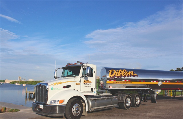 Dillon Transport uses natural gas as a strategy to go after new customers for whom sustainability is a key requirement.