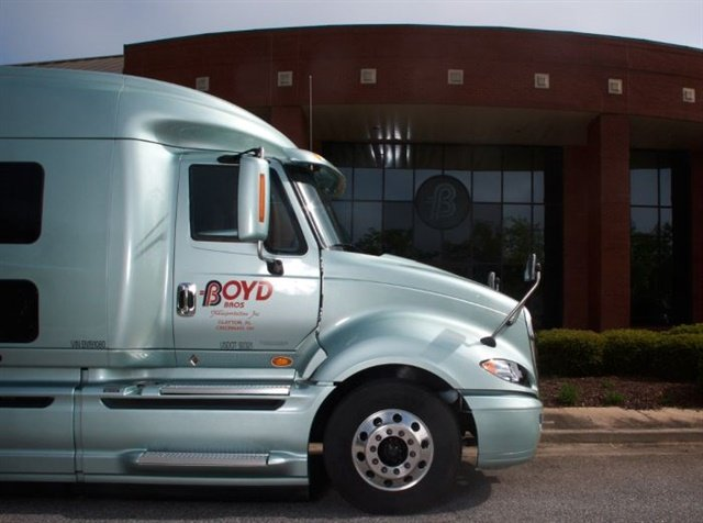 Recognizing that drivers tend to switch jobs in their first month, Boyd Bros. guarantees the pay of drivers who have completed orientation for their first four weeks. That way, the carrier figures they need not worry about making miles while they're learning how the company operates. Photo: Boyd Bros