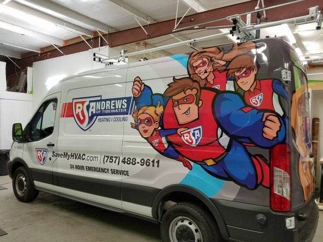 Vehicle graphics can offer 101 impressions per mile traveled, and at a significantly lower cost per impression than billboards and radio advertising.  (Photo courtesy of Avery Dennison)