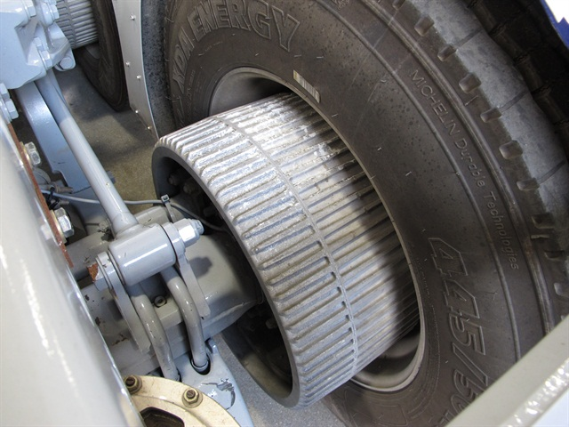 Aluminum matrix brake drums save 50 pounds per wheel, but they might be too expensive for some fleets.