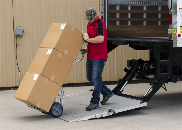 You need to understand your application and how it affects liftgate specs for your truck or trailer. Photo: Anthony Liftgates