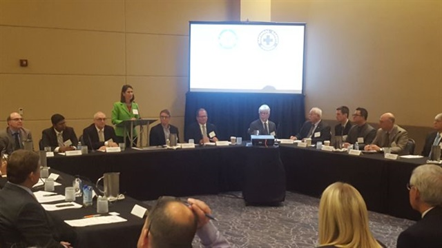 The roundtable discussion was hosted by the U.S. National Safety Council. Photo: Stephane Babcock