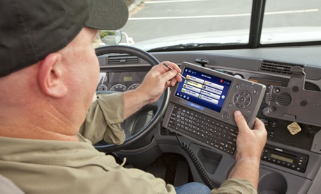 With the ELD mandate now in place, the next step is to educate fleet owners, managers and drivers on how to best use the data and high-level information they can now access. Photo: Omnitracs