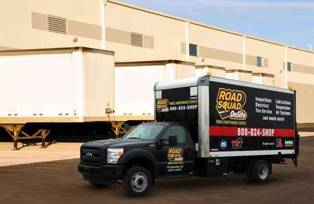 Some outside service providers will come to the fleet to perform maintenance and repair.Photo: Travel Centers
