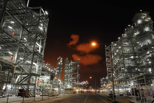 Shell's gas-to-liquids plant in Qatar is the largest in the world. Photo: Shell