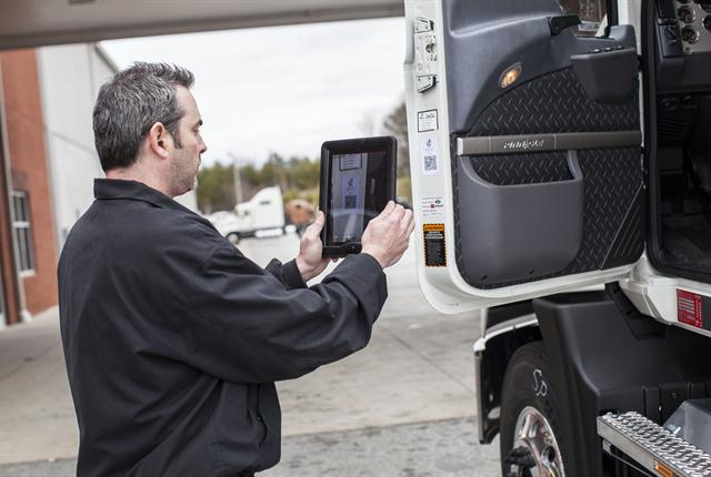 QR codes are now allowing service providers, fleets and drivers to cut time off the front end of the service process.