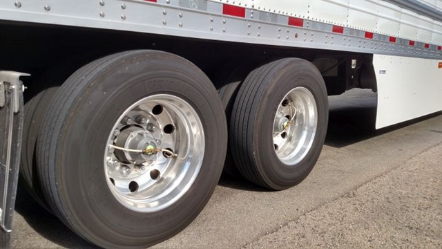 Tire pressure inflation or monitoring systems are now on 40% of all trailers, compared to none about 20 years ago, says P.S.I.