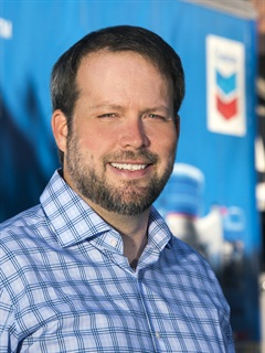 Shawn Whitacre, senior staff engineer at Chevron. Photo courtesy Chevron.