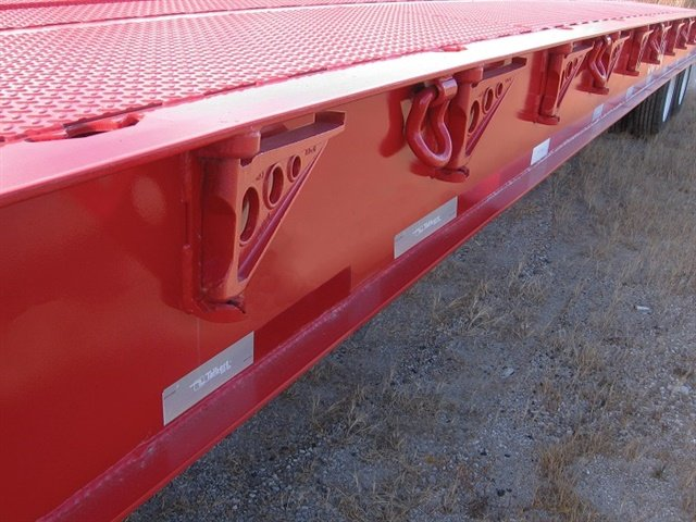 Select heavy-haul trailers made with high-strength steel, such as 12-inch deep I-beams with a minimum yield strength of 100,000 psi, for long-term durability.