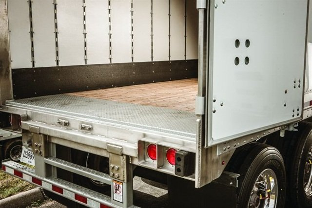 most vans get swing doors, which are comparatively simple and, when locked  shut,