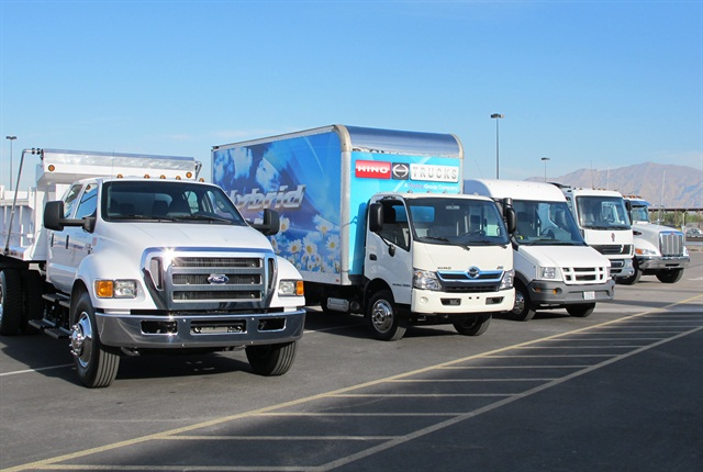 Medium-duty Truck of the Year candidates.