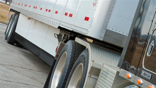 Trailers for the first time are included in the fuel economy/GHG regs. Photo: Wabash