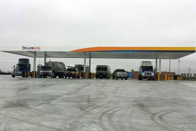 """CNG distributors often rely on a large """"anchor"""" fleet to build start-up volumes in an area. Other business soon follows, once fuel availability is established."""