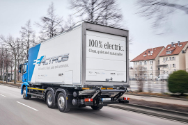 Daimler Pumping R&D into Electric Trucks, Connectivity, Autonomous Trucks