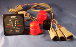 This methane gas detector is designed for alternative fuel vehicles and is incorporated into the design and re-design of vehicles using CNG and LNG.