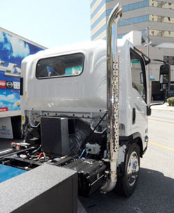 Turbine-Electric Hybrid Whirs and Whooshes But Saves Fuel, Maker Says