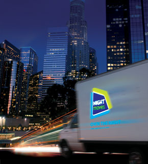 Night Moves Offers Truck Branding for Night Drivers