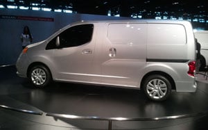 At the 2012 Chicago Auto Show, Nissan unveiled its latest commercial vehicle, the NV200 Compact Cargo Van