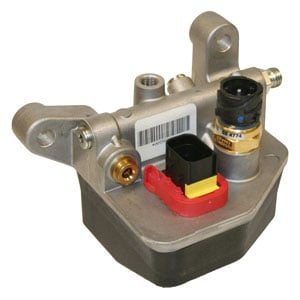 Parker's Hydrocarbon Dosing System controls the dosing of diesel fuel into the exhaust upstream of the diesel oxidation catalyst to allow efficient regeneration of the diesel particulate filter.