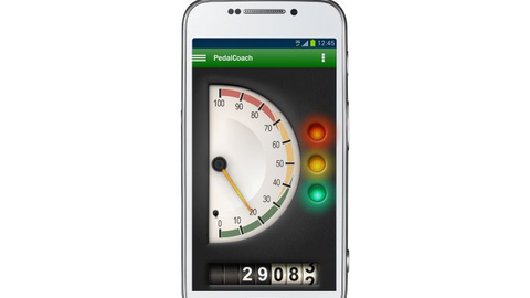 LinkeDrive's Pedal Coach provides instant feedback on driver performance delivered to the...