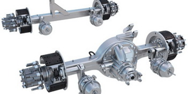 Use of 6x2 tandems with only one powered axle, like Meritor's FueLite, could grow to six times...