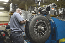 Working With Your Tire Provider