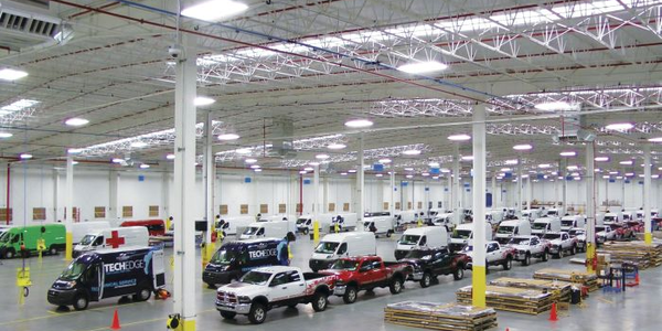 Utilimaster's upfit facility for Ram Truck in Saltillo, Mexico, installs equipment on heavy...