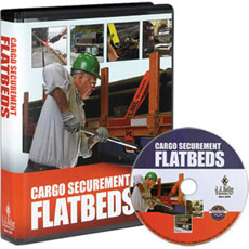 Cargo Securement Flatbeds training program teaches drivers how to keep their flatbed loads in place and in compliance, and it also includes best practices and how-to information.