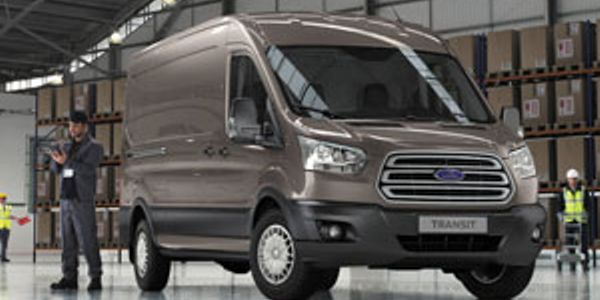 Refined full-size Transit van for Europe closely resembles the North American version that will...