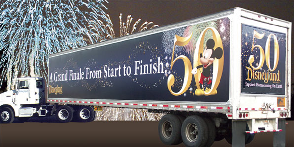 Last year, Disneyland celebrated its 50th anniversary with special promotions, including...