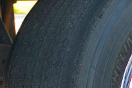 Uneven Wear on  Wide-Base Single Tires