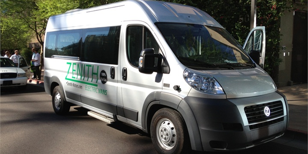 The Zenith Electric Shuttle Van (pictured at last year's event) will be there at this year's...